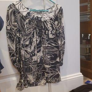 Layering blouse